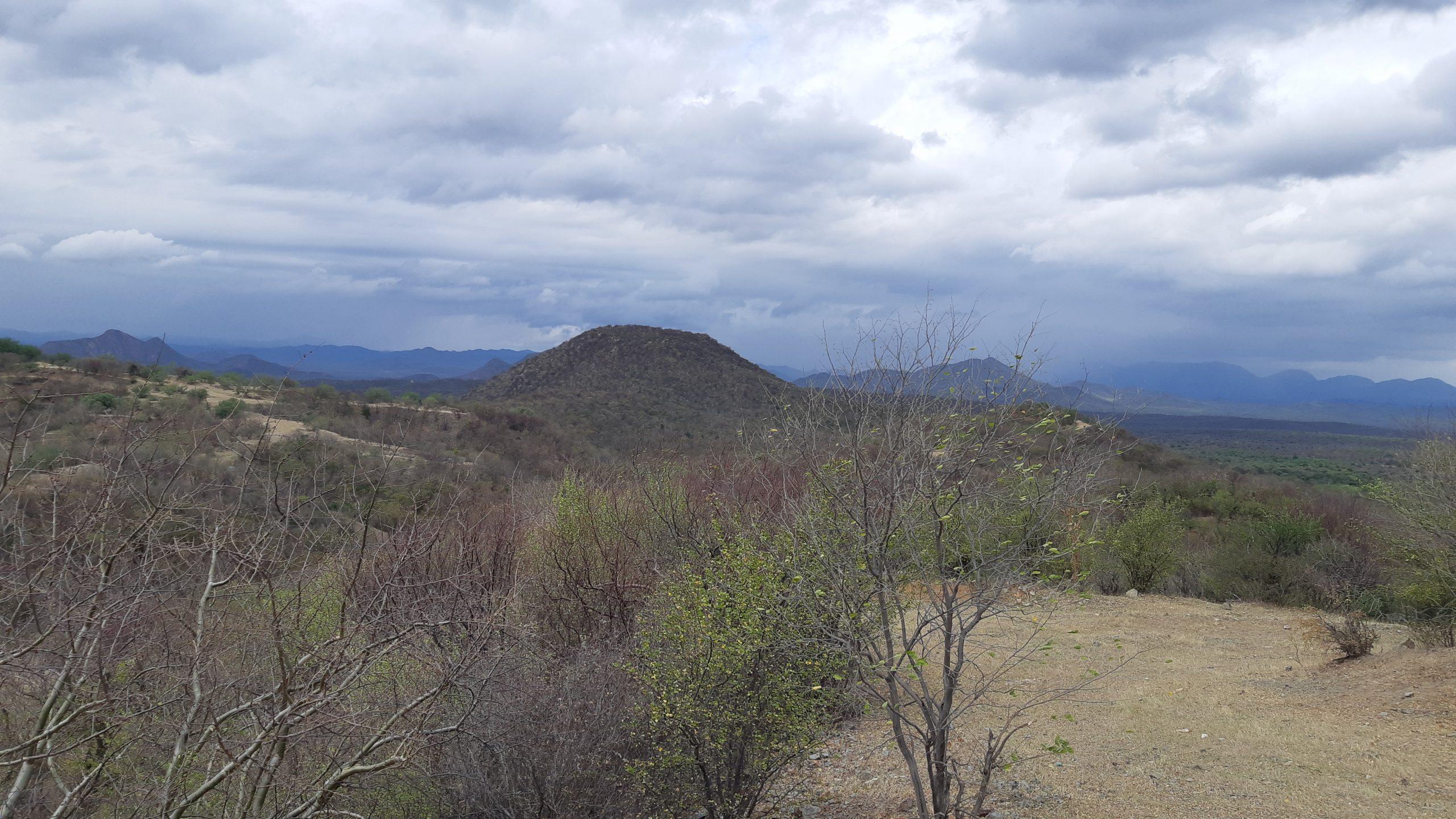 Pilar view from 4 Trench toward Main Zone at Pilar