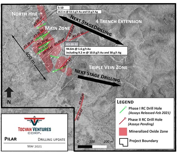 Tocvan Provides Phase II Drill Program Update